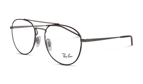 Ray Ban RB 6414 3043 55 Top Havana On Rubber Gunmetal