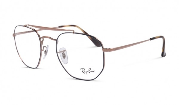 Ray Ban RB 3648V 2975 51 Top Blue On Copper