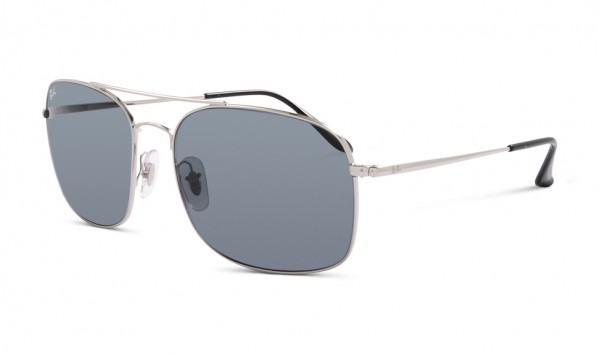 Ray Ban RB 3611 003-R5 60 Silver Blue