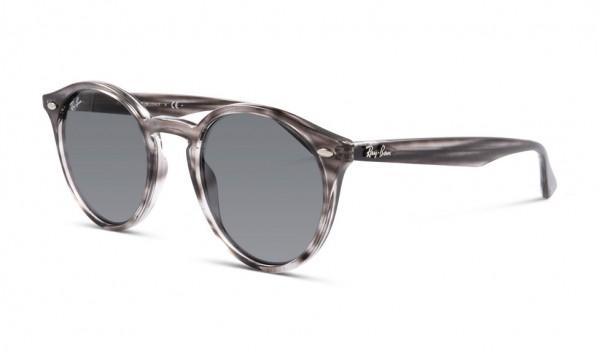 Ray Ban RB 2180 6430-87 49 Stripped Grey Havana Dark Grey
