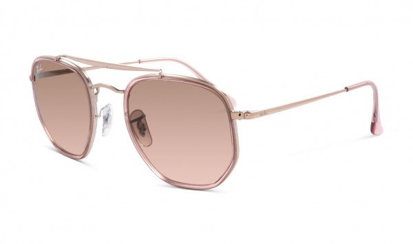 Ray Ban RB 3648-M 9069-A5 52 Copper Pink Gradient Brown