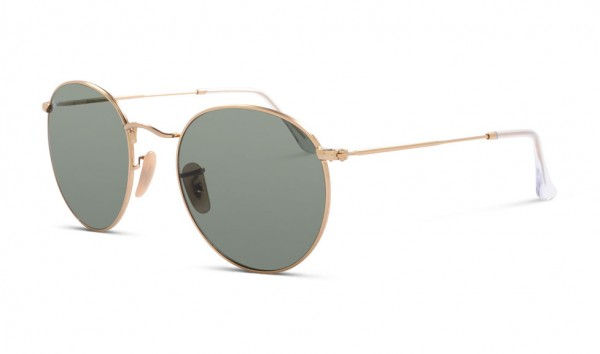Ray Ban Round Metal RB 3447 001 53 Gold