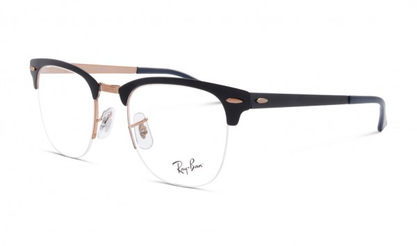 Ray Ban RB 3716 3055 50 Copper On Top Matte Dark Blue